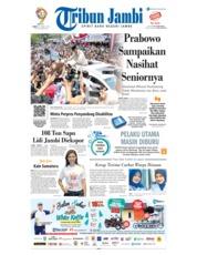 Cover Tribun Jambi 15 Maret 2019