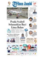 Cover Tribun Jambi 18 Maret 2019