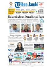 Cover Tribun Jambi 20 Maret 2019