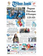 Cover Tribun Jambi 21 Maret 2019