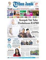 Cover Tribun Jambi 22 Maret 2019