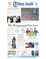 Cover Tribun Jambi 14 April 2019