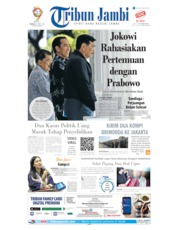 Cover Tribun Jambi 23 April 2019