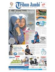 Cover Tribun Jambi 12 Mei 2019