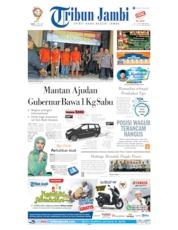 Cover Tribun Jambi 15 Mei 2019