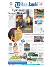 Cover Tribun Jambi 16 Mei 2019