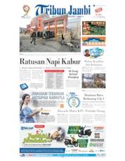 Cover Tribun Jambi 17 Mei 2019