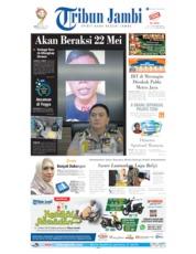 Cover Tribun Jambi 18 Mei 2019