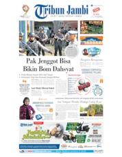 Cover Tribun Jambi 19 Mei 2019