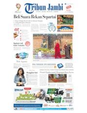 Cover Tribun Jambi 20 Mei 2019