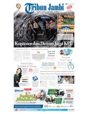 Cover Tribun Jambi 21 Mei 2019
