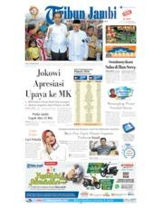 Cover Tribun Jambi 22 Mei 2019