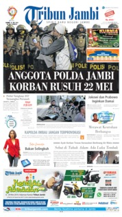 Tribun Jambi Cover 23 May 2019