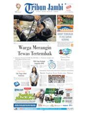 Cover Tribun Jambi 24 Mei 2019