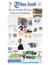 Cover Tribun Jambi 25 Mei 2019