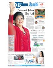 Tribun Jambi Cover 02 June 2019