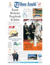 Tribun Jambi Cover 03 June 2019