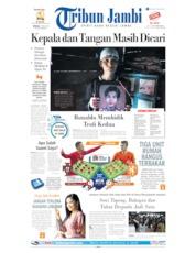 Cover Tribun Jambi 09 Juni 2019