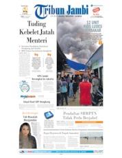Cover Tribun Jambi 10 Juni 2019