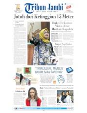 Cover Tribun Jambi 11 Juni 2019