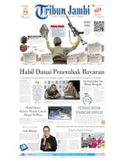 Cover Tribun Jambi 12 Juni 2019