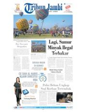 Cover Tribun Jambi 13 Juni 2019