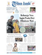 Cover Tribun Jambi 15 Juni 2019