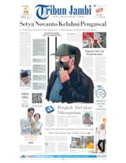 Cover Tribun Jambi 16 Juni 2019