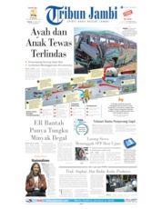 Cover Tribun Jambi 18 Juni 2019