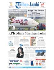 Cover Tribun Jambi 21 Juni 2019