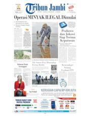 Cover Tribun Jambi 25 Juni 2019