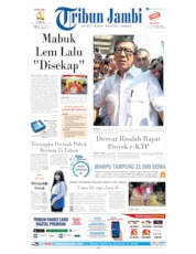 Tribun Jambi Cover 26 June 2019