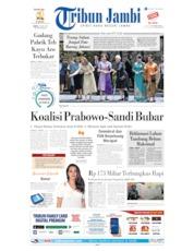 Cover Tribun Jambi 29 Juni 2019