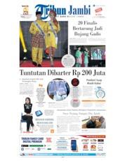 Cover Tribun Jambi 30 Juni 2019