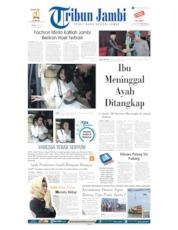 Cover Tribun Jambi 01 Juli 2019