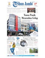 Cover Tribun Jambi 03 Juli 2019