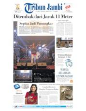 Cover Tribun Jambi 06 Juli 2019