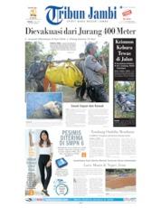 Cover Tribun Jambi 07 Juli 2019