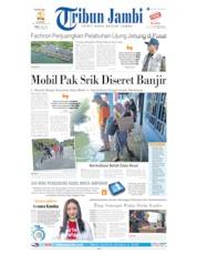 Cover Tribun Jambi 08 Juli 2019