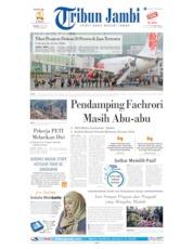Cover Tribun Jambi 09 Juli 2019