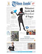 Cover Tribun Jambi 10 Juli 2019