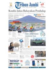 Cover Tribun Jambi 12 Juli 2019