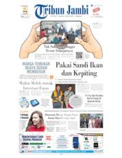 Cover Tribun Jambi 13 Juli 2019