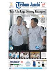 Tribun Jambi Cover 14 July 2019