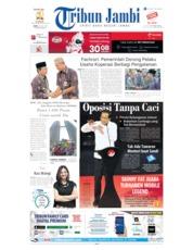 Tribun Jambi Cover 15 July 2019