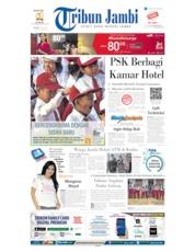Tribun Jambi Cover 16 July 2019