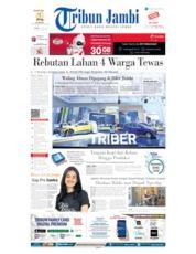 Cover Tribun Jambi 18 Juli 2019