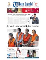 Cover Tribun Jambi 19 Juli 2019