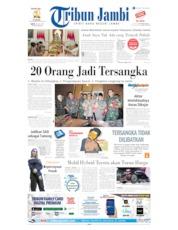 Cover Tribun Jambi 20 Juli 2019