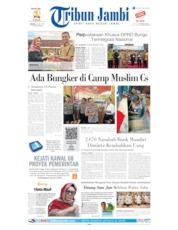 Cover Tribun Jambi 23 Juli 2019